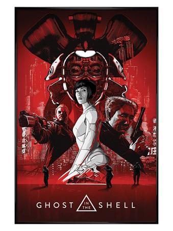 Gloss Black Framed Red Scarlett - Ghost In The Shell