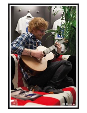Gloss Black Framed Winning At Wembley - Ed Sheeran