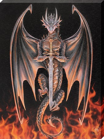 Dragon Warrior - Anne Stokes