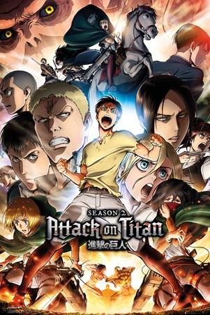 Framed Attack On Titan - Season 2