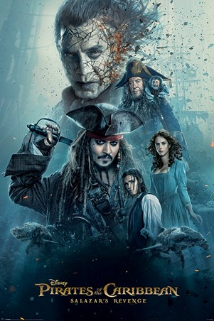 Framed Burning - Pirates of the Caribbean