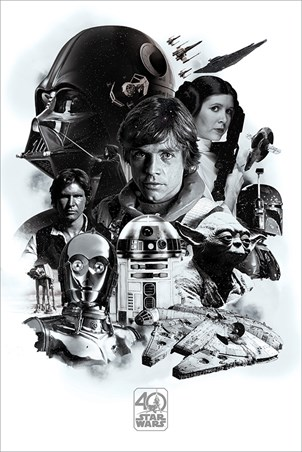 40th Anniversary Montage, Star Wars