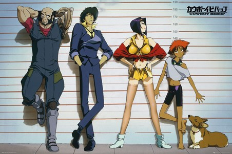 Framed Line Up - Cowboy Bebop
