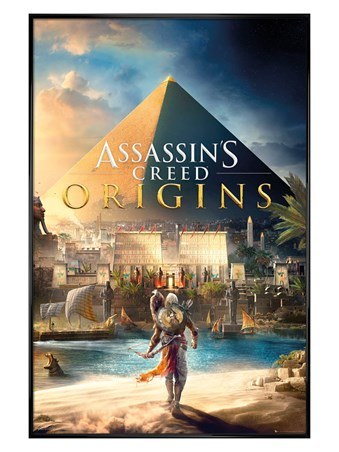 Gloss Black Framed Assassins Creed - Origins
