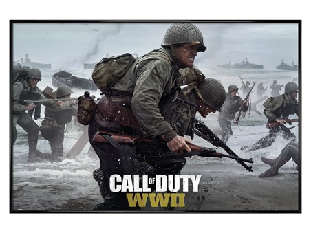 Gloss Black Framed Stronghold WWII - Call Of Duty