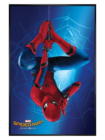 Gloss Black Framed Spider-Man Homecoming - Hang