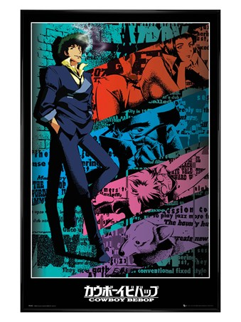 Gloss Black Framed Spike - Cowboy Bebop