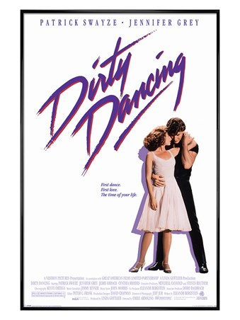 Gloss Black Framed The Time of My Life - Dirty Dancing