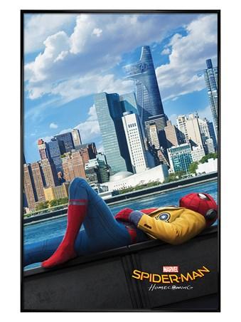 Gloss Black Framed Homecoming Teaser - Spider-Man