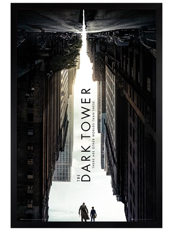 Black Wooden Framed The Dark Tower - One Sheet