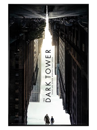Framed Gloss Black Framed The Dark Tower - One Sheet