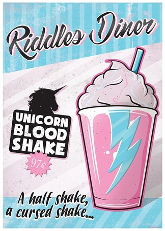 Riddles Diner - Unicorn Blood Shake