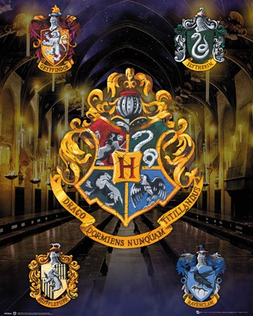 House Crests - Harry Potter