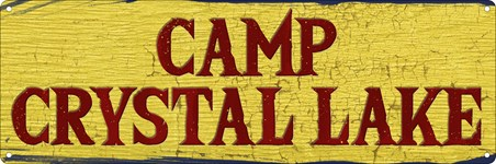 Framed Camp Crystal Lake - Home Of A Serial Killer