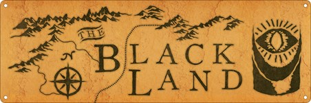 The Black Land - Fantasy Map