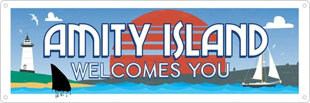Amity Island Welcomes You - Tourist