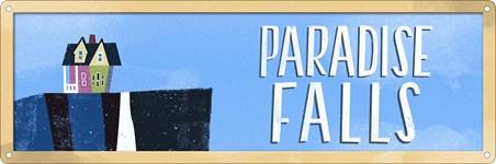 Paradise Falls - Destination