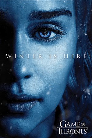 Winter is Here - Daenerys - Game Of Thrones