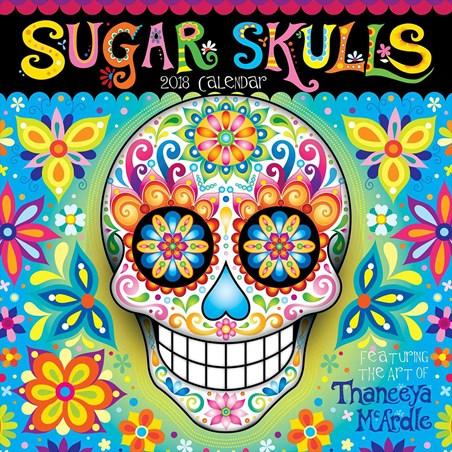 Calavera Colour - Sugar Skulls
