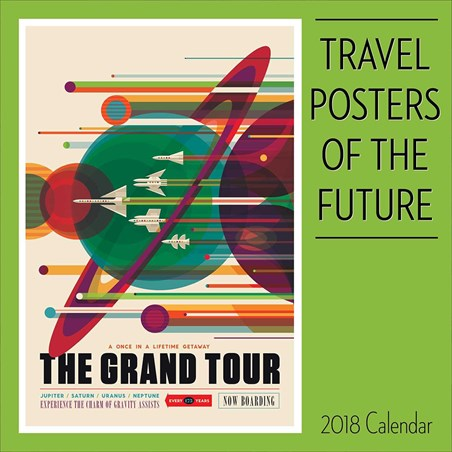 Futuristic Traveller - Travel Posters of the Future