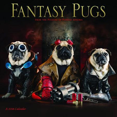 Roxy, Blue & Bono - Fantasy Pugs