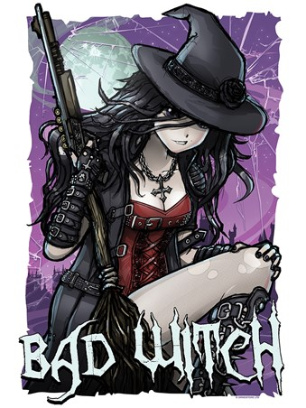 Framed Magical Mischief - Bad Witch