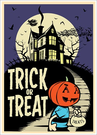 Trick Or Treat - Retro Halloween