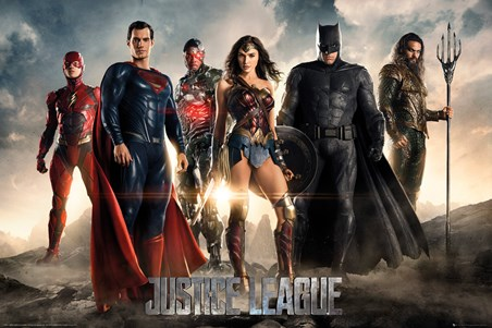 Character Line-Up - Justice League
