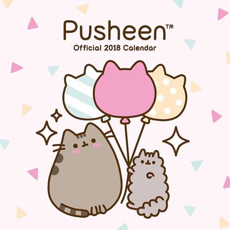 A Tabby Cat's Celebration - Pusheen
