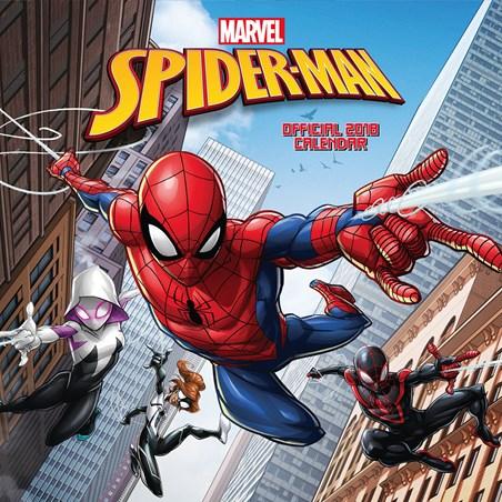 Spider-Man 2018 - Square Calendar