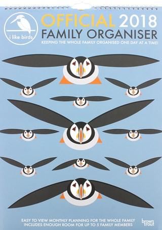 I Like Birds - Family Organizer