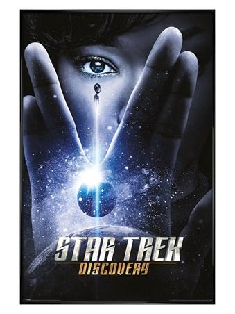 Gloss Black Framed Discovery International - Star Trek