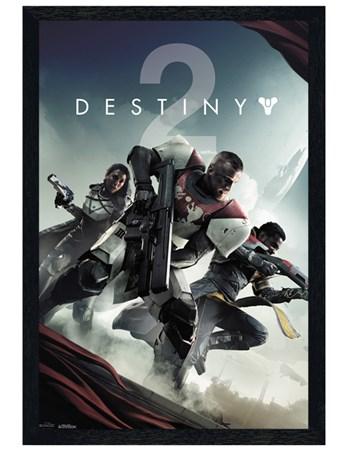 Black Wooden Framed New Legends - Destiny 2