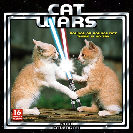 May The Paws Be With You - Cat Wars
