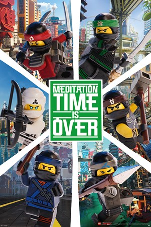 LEGO® Ninjago Movie Six Ninjas - LEGO® Ninjago Movie
