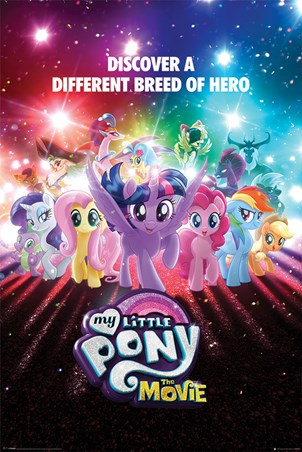 Framed A Different Breed of Hero - My Little Pony The Movie