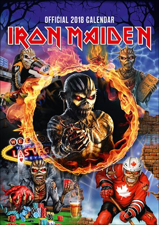 Book of Souls Tour Art - Iron Maiden