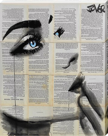 Framed Never Know Again - Loui Jover