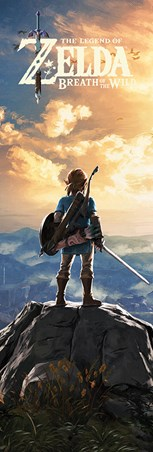 Sunset Over Hyrule - The Legend Of Zelda: Breath Of The Wild