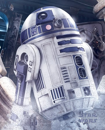 R2-D2 Droid - Star Wars The Last Jedi