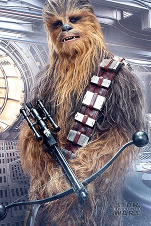 Chewbacca Bowcaster - Star Wars The Last Jedi