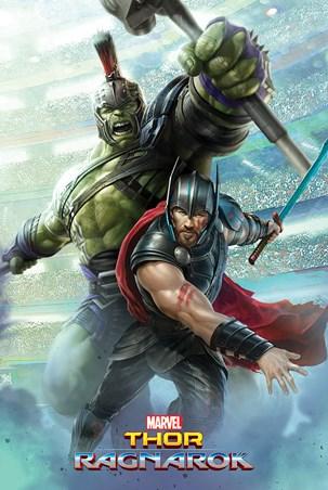 Old Friends - Thor Ragnarok Thor And Hulk