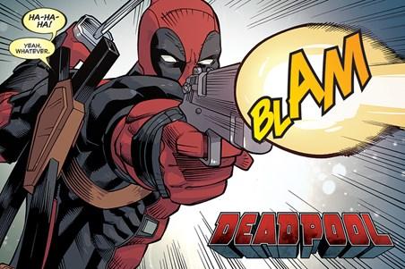 Framed Blam - Deadpool