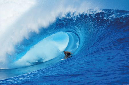 Riding The Wave - A Deep Blue View