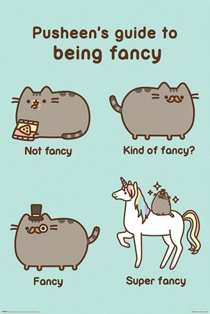 Super Fancy - Pusheen