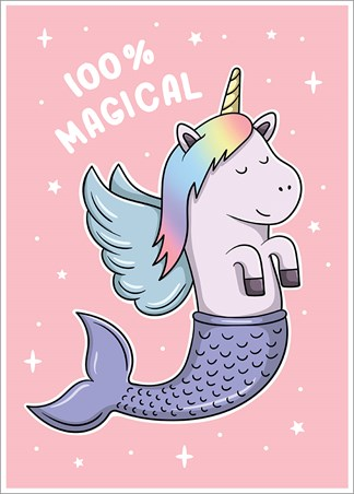 100% Magical - The Magical Mermicorn