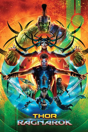 Framed One Sheet - Thor Ragnarok