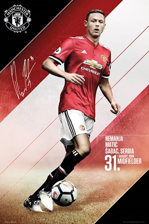 Matic 17-18, Manchester United