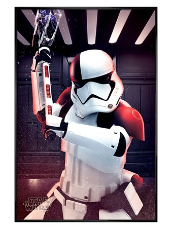 Gloss Black Framed Executioner Trooper - Star Wars The Last Jedi