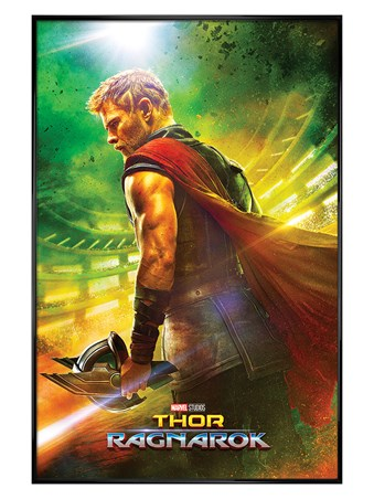 Gloss Black Framed Teaser - Thor Ragnarok